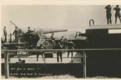 10 inch gun in action Torka's Studio Port Townsend Wash