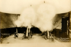 12 inch Mortars Showing Projectile Smedley Photo