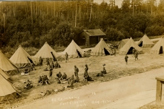 Fort Flagler 92 nd Co CAC in Camp Aug 1912