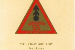 555th Coast Artillery Fort Ruger TH
