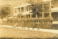 153rd Company C.A.C. Fort Andrews