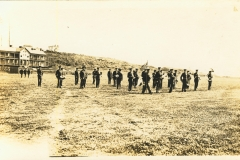 Witten on back 7th artillery Band