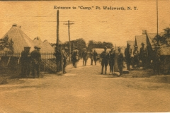 Entrance to camp Fort Wadsworth NY