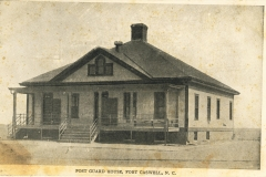 Post Guard House Fort Caswell NC