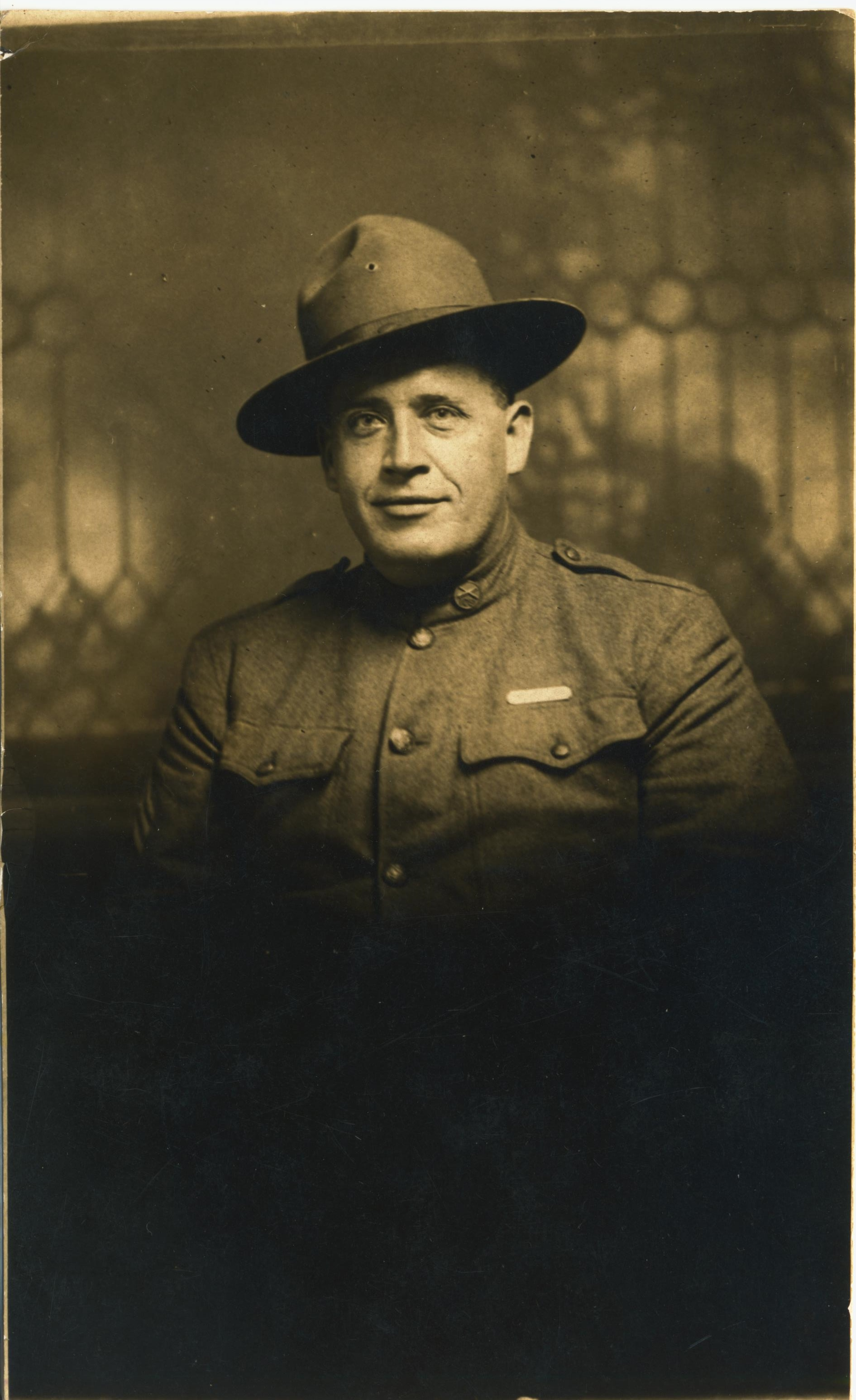Mess Sargeant Rube A Tart 4th Co CAC Fort Greble RI His mother was sister to Nellie Sears Suedaker
