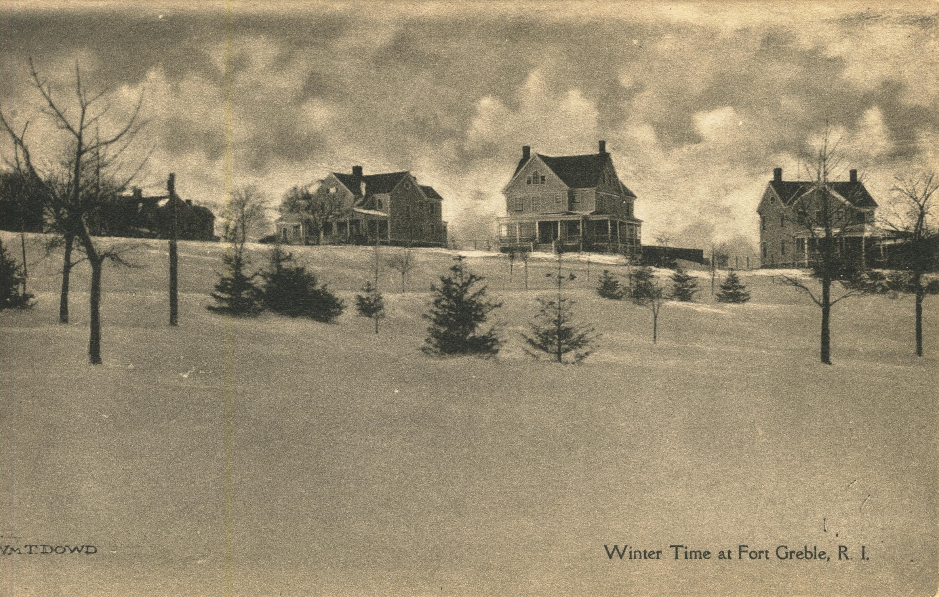 Winter Time at Fort Greble RI